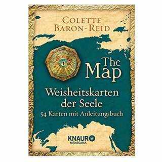Kartenset  The Map: Weisheitskarten der Seele